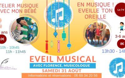 Ateliers d'éveil musical à Cherbourg en Cotentin