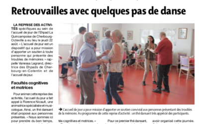 Article – Presse de la Manche – 3 septembre 2019