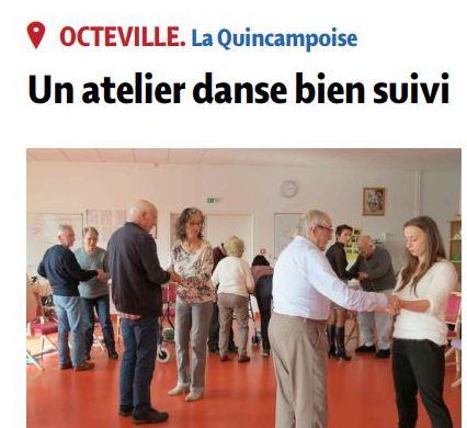 Article – Presse de la Manche – 15 octobre 2019